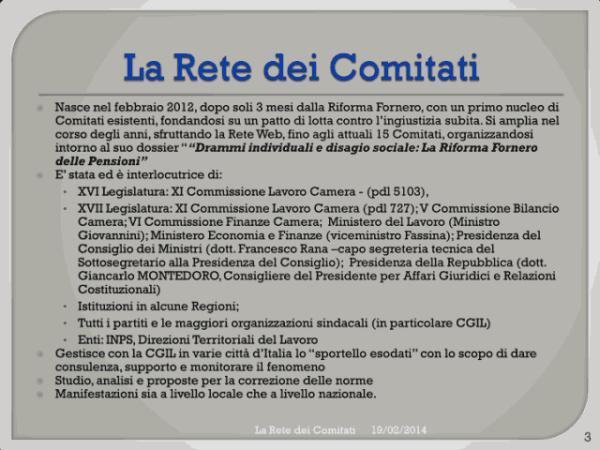 Incontro Rete - PD 10/02/2013 slide 3