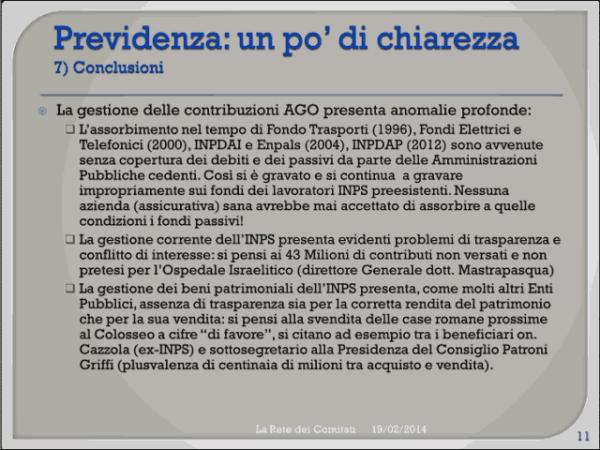 Incontro Rete - PD 19/02/2013 slide 11