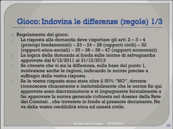 Incontro Rete - PD 19/02/2013 slide 15
