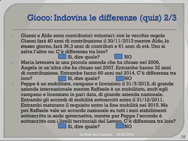 Incontro Rete - PD 19/02/2013 slide 16