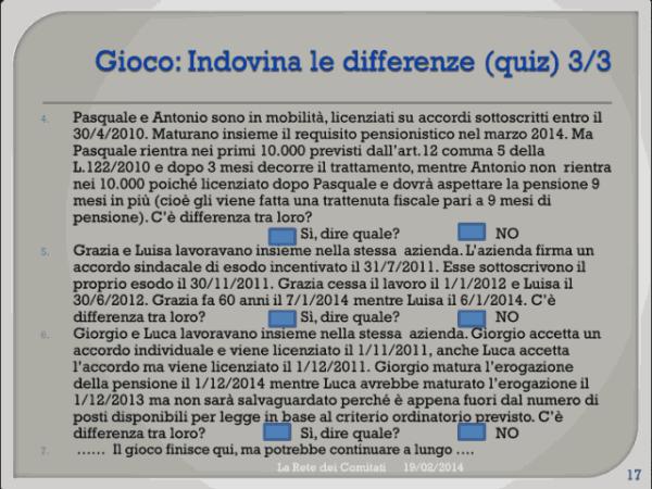 Incontro Rete - PD 19/02/2013 slide 17
