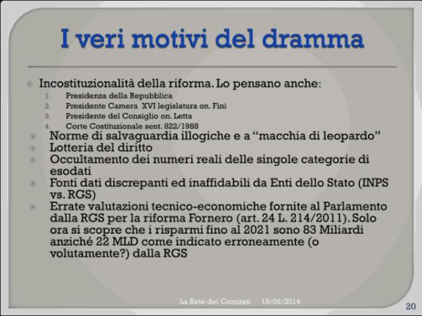 Incontro Rete - PD 19/02/2013 slide 20
