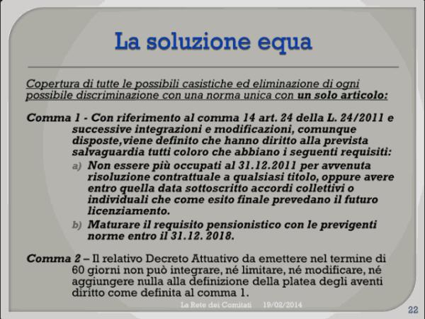 Incontro Rete - PD 19/02/2013 slide 22