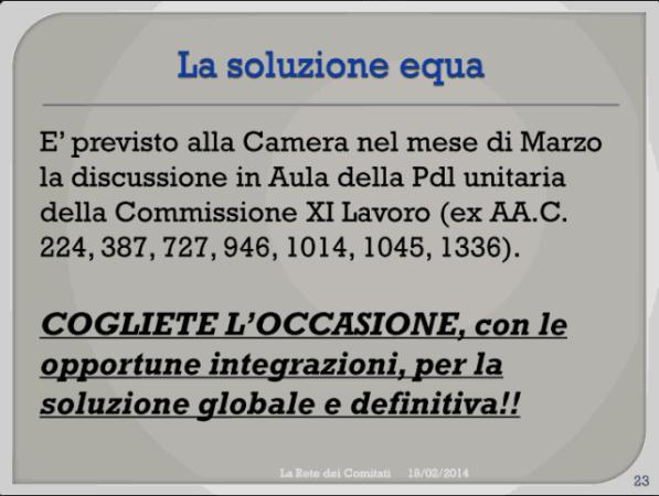 Incontro Rete - PD 19/02/2013 slide 23