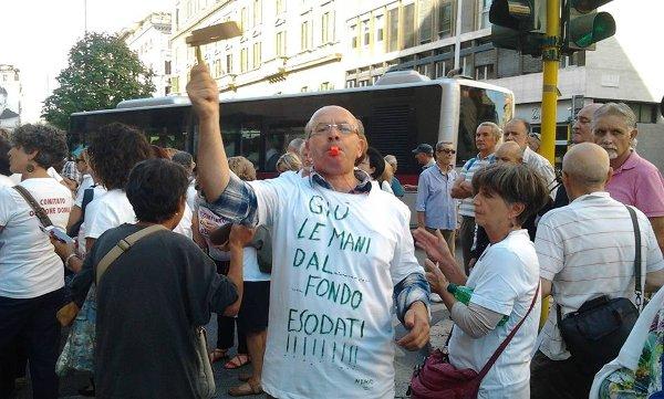 manifestazione Roma 15-09-2015