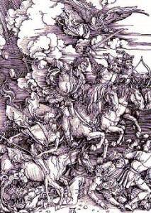 i quattro cavalieri dell'Apocalisse