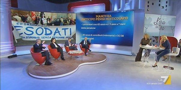 La7 trasmissione del 16-11-2016