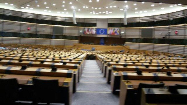 aula del Parlamento UE